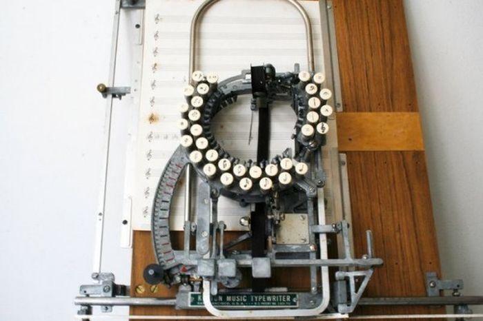 Natų spausdinimo mašinėlė