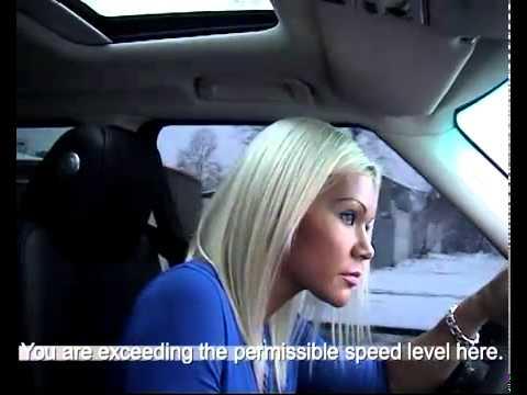 Blondinė ir navigacija