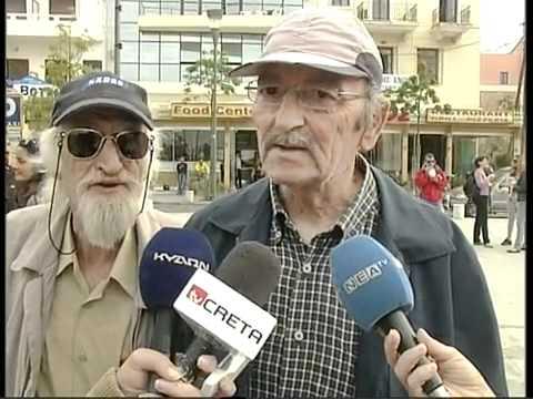 Senukas įsiterpia į interviu