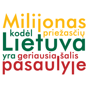 Lietuva – geriausia šalis…