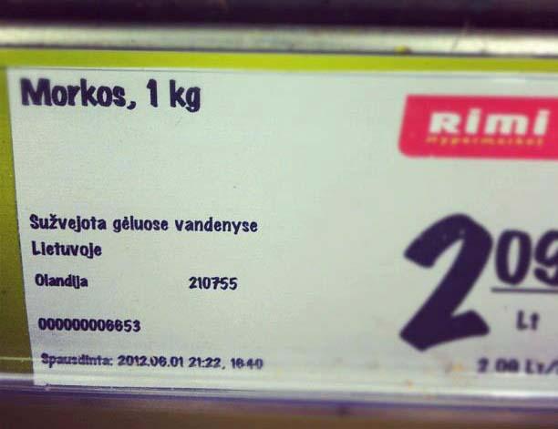 Lietuviškos morkos iš Olandijos