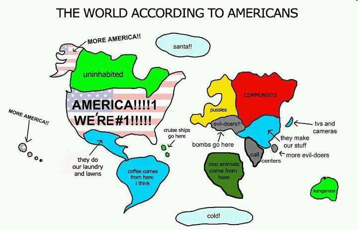 Pasaulis pagal Ameriką