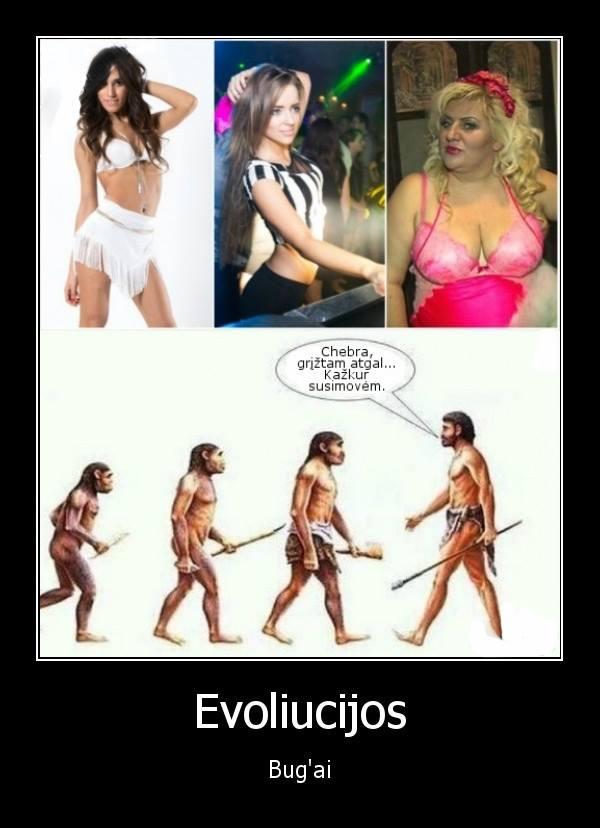Evoliucijos BUGai